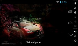 Awesome HD Car Live Wallpapers screenshot 4/4
