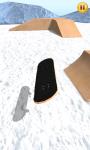 Finger Snowboard 3D screenshot 2/6