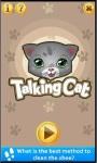 Talking Tommie Cat screenshot 1/1