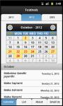 Indian Festival Calendar screenshot 2/4