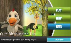 Cute Birds Match Tap screenshot 1/3
