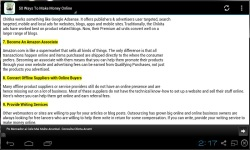 50 Ways To Make Money Online screenshot 2/3
