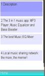 Equalizer music booster player/ amplifier screenshot 1/1