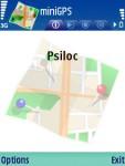 Psiloc miniGPS for S60 3rd Edition screenshot 1/1