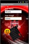 Droid Friendship Calculator Free screenshot 1/2
