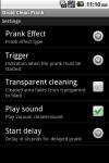 Droid Clean Prank screenshot 2/2