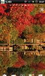 Lake Fall Autumn Live Wallpaper screenshot 1/6