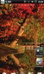 Lake Fall Autumn Live Wallpaper screenshot 5/6