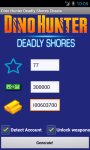 Dino Hunter Deadly Shores Cheats Unofficial screenshot 2/2