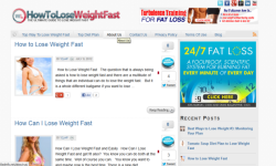 How to Lose Weight Fast Safely and Easily screenshot 1/4