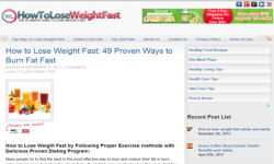 How to Lose Weight Fast Safely and Easily screenshot 2/4