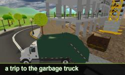 City Garbage Truck Simulator screenshot 1/3
