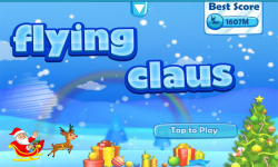 Flying Santa Claus screenshot 1/4