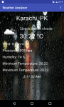 Weather Analyser screenshot 1/3