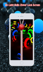3D Light Balls Zipper Lock screenshot 3/6