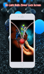 3D Light Balls Zipper Lock screenshot 5/6