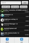 uninstalling manager screenshot 1/1