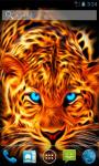 Leopard with Blue Eyes LWP screenshot 2/4