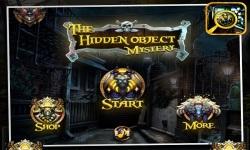 The Hidden Object Mystery screenshot 1/5