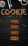 Cookie Unblock screenshot 1/5