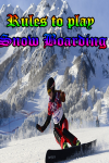 Rules to play Snow Boarding screenshot 1/4