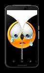 Happy Face zip Unlock Screen screenshot 1/3