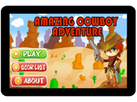Amazing Cowboy Adventure screenshot 1/3
