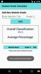 Student Grade Calculator screenshot 2/3