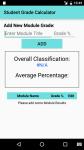 Student Grade Calculator screenshot 3/3