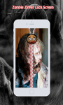 Zombie Zipper Lock Screen screenshot 3/6
