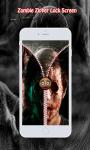 Zombie Zipper Lock Screen screenshot 5/6