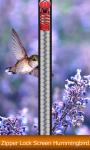 Zipper Lock Screen Hummingbird screenshot 1/6
