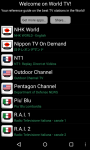 World TV - Android screenshot 3/3