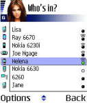 MobiLuck Bluetooth Messenger for Symbian S60 screenshot 1/1