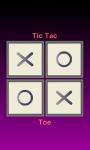 TicTacToe touch screenshot 1/2