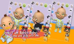 Talking Babsy Baby Free screenshot 1/4