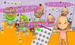 Talking Babsy Baby Free screenshot 2/4