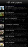 HD Wildlife wallpapers screenshot 2/5