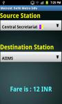 Delhi Metro Info screenshot 4/4