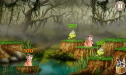 Worms VS Frogs screenshot 2/4