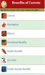Benefits of Carrots screenshot 2/3