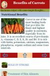 Benefits of Carrots screenshot 3/3