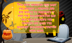 Baby Monster Halloween Pumpkin Decoration screenshot 2/5