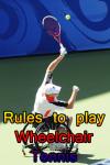 Rules to play Wheelchair Tennis screenshot 1/3