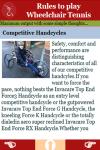 Rules to play Wheelchair Tennis screenshot 3/3