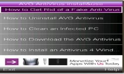 AVG ANTIVIRUS  2015     screenshot 1/1