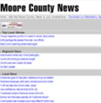 The Moore County News screenshot 1/1