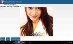 Melody JKT48 Meme Generator screenshot 3/5