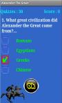 Alexander The Great Quiz screenshot 5/6