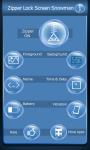 Zipper Lock Screen Snowman screenshot 2/6